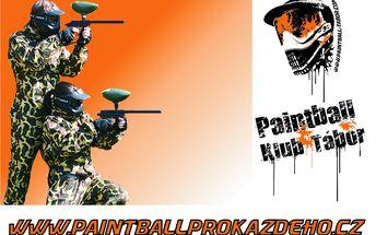 215 Kč za adrenalinem nabitý den s paintballem pro 1 osobu v hodnotě 400 Kč