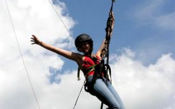 Adrenalin ve Špindlerově Mlýně - Obří houpačka, Přemostění a Terénní koloběžky