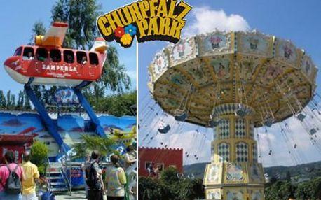 889 Kč za výlet do zábavního parku Churpfalz