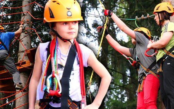 4 € za vstup do Lanového parku Preles v Žiline, v lesoparku - Chrasť. Zábava pre malých aj veľkých so zľavou 50%!