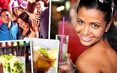S MAXI drinkem Mojita či Cuba Libre za rytmů salsy nebo zumby v sobě probudíte vášnivé tanečníky. Vyražte na MAXI letní párty a osvěžte se s 60% slevou.