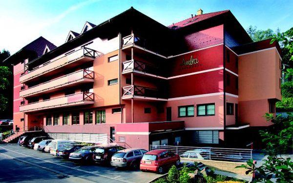 Zastavte na chvíli čas a dopřejte si luxusní 4 denní odpočinek ve wellness hoteluRezidence Ambra**** vlázeňském městečku Luhačovice za jedinečných 5856 Kč.Varianta pro 2osoby.