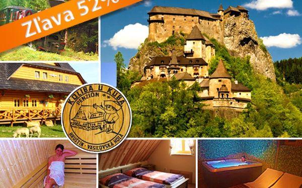 Utečte z mesta! Len 79€ za trojdňový, relaxačno-zážitkový pobyt pre 2 osoby s polpenziou a wellness v atraktívnom horskom stredisku na Orave po 52% zľave!