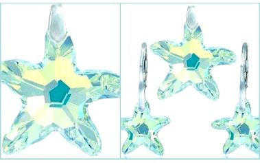 Zakupte si jedinečný a originální dárkový set - přívěšek a náušnice ve tvaru Mořské hvězdy s krystaly Swarovski ® Elements za neuvěřitelnou cenu 437 Kč získáte tento přívěšek včetně poštovného a dárkového balení! Vhodné také jako dárek!