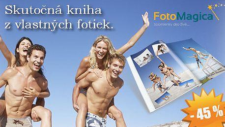 Dajte svojim nezabudnuteľným spomienkam originálnu podobu len za 17,00€ vrátane poštovného. 40 stranová veľká fotokniha ( A4 ) so zľavou 45%!