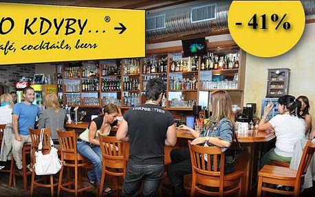 Užívejte si výjimečnou 41% slevu ve skvělé atmosféře baru - Co kdyby...® v Havířově