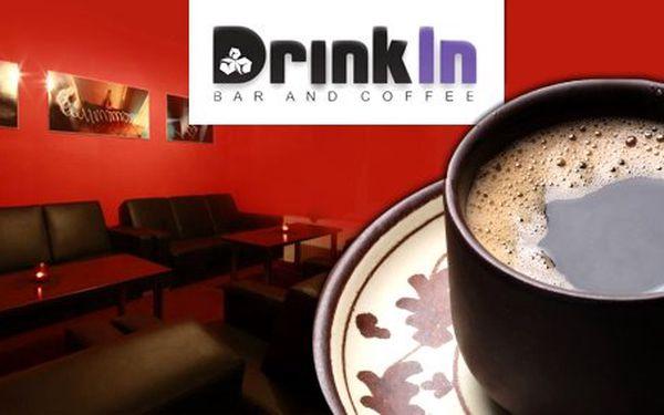 0,90 Eur za malé alebo veľké Presso Bristot Tiziano v Drink In – Bar and Coffee. Vychutnajte si pravú kávu a oddýchnite si zároveň so zľavou 55%!
