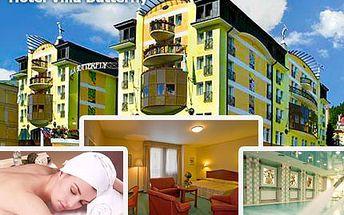 Načerpejte novou energii v jednom z nejkrásnějších lázeňských měst, Mariánských Lázních. 2 noci plné luxusu pro 2 ve Wellness Hotel Villa Butterfly **** se 40% slevou.