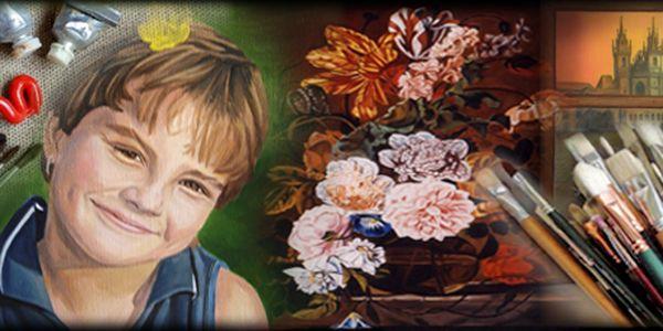 Výtvarnice, malířka, portrétistka Věra Čermáková nabízí 5 individuálních hodin kreslení a základy olejomalby jen za neuvěřitelných 990 Kč!