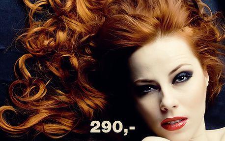 Střih, foukání, regenarační ošetření a závěrečný styling v salonu Vyzze to vše se slevou 54%! Jen za 290,- !