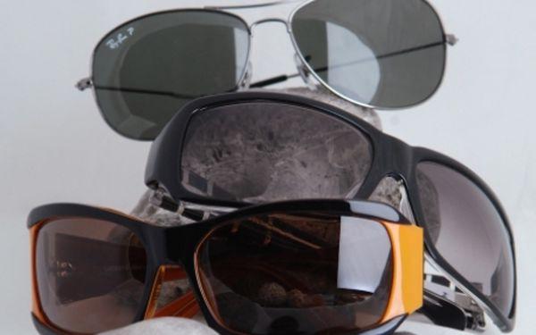 POPRVÉ!!! Značkové sluneční brýle (D&G, RAY-BAN, HUGO BOSS, CK, FENDI, GIVENCHY…) v kamenném obchodě centru Prahy 1 až s 50% slevou!