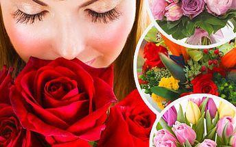 Potěšte své blízké kyticí květin, zvlášť vybraných pro každou příležitost! Nechejte si navázat kytici květin dle vlastního výběru se slevou 50%.