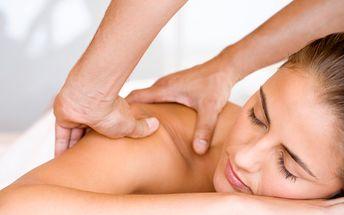 220 Kč za konopnou masáž - ulevující od bolesti zad a šíje v hodnotě 350 Kč