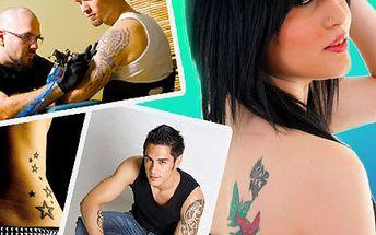 Provokativní? Decentní? Nebo skryté? Ozdobte své tělo tetováním dle vašich představ. Vyberte si tetování, které je vaším odrazem, a budete se cítit ve své kůži se slevou 50%.
