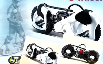 Vyzkoušejte adrenalin na dvou kolech úplně jinak! Wheelman vám dává nové možnosti zábavy. Projeďte se, driftujte a skákejte na Wheelman dosytosti se slevou 70%.