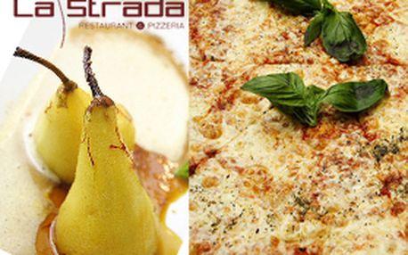 Neuvěřitelných 198,- Kč za VIP konzumační kartu do restaurace La Strada. Úspěšná akce je zpět! 6x 1+1 pizza zdarma a 2x neomezená konzumace pro partu za polovic! Sleva 55%!!!