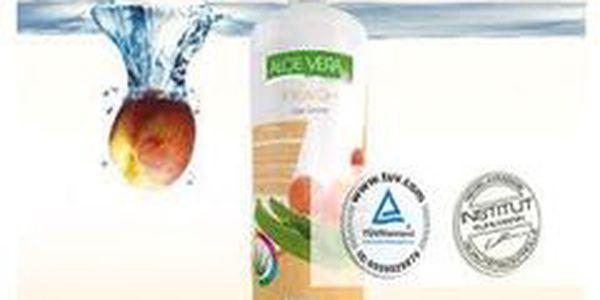 Trápia Vás zažívacie problémy, bolesti pečene, znížená imunita alebo kožné problémy? Je tu pre Vás certifikovaný 95% Aloe vera gélový nápoj BLUE NATURE s príchuťou broskyne!!!