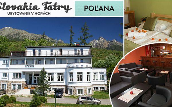 5-denní dovolená ve Vysokých Tatrách jen za 79,90EUR. Užijte si pobyt v nově zařízeném stylovém Penzioně Polana ve Smokovci na Pěkné Vyhlídce.