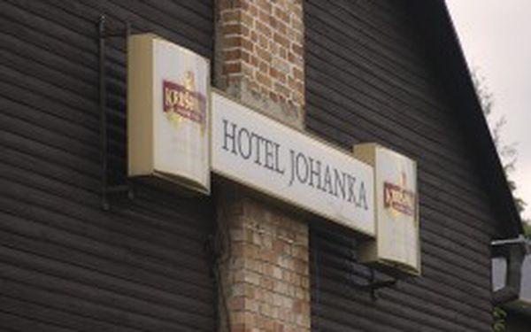 """Skvělý """"Zkrácený letní týden pod Klínovcem """" v Hotelu Johanka na 4 noci s polopenzí za cenu 860.-Kč na osobu."""