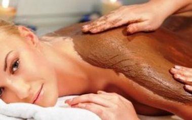 Jen 399 Kč za 60minutovou luxusní čokoládovou masáž s peelingem a zábalem! Odreagujte se při omamné vůni čokolády s 64% primaslevou!