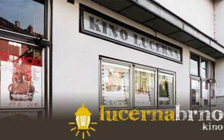 Mimořádná nabídka! Zajděte si do brněnského kina Lucerna za polovinu! Zaplaťe pouze 100 Kč za vstupenku pro dvě osoby a užijte si skvělý filmový večer!