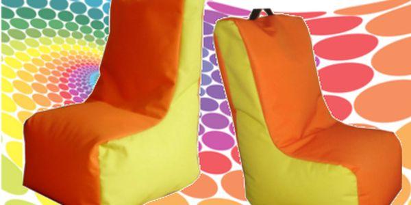 Pohodlné dětské látkové sedací křeslo za skvělých 660 Kč místo 1200 Kč!