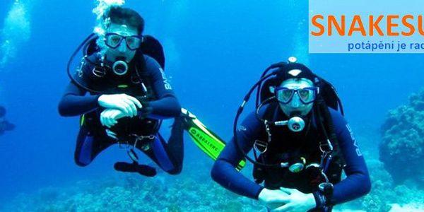 499 Kč za 60minutovou ochutnávku potápění včetně instruktora a vybavení. Objevujte hlubiny a relaxujte s 58% slevou.