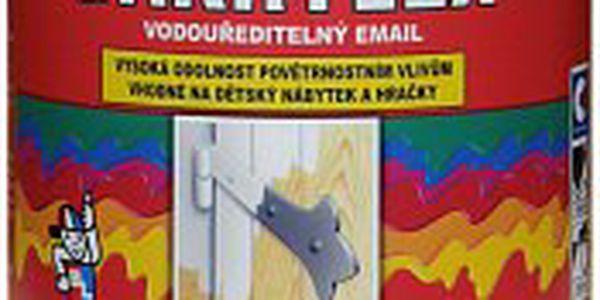 Teď to všem natřete! Vodou ředitelný rychleschnoucí email na dřevo i kov za neuvěřitelnou cenu! Bakrylex lesk 0445 - Barva Modrá