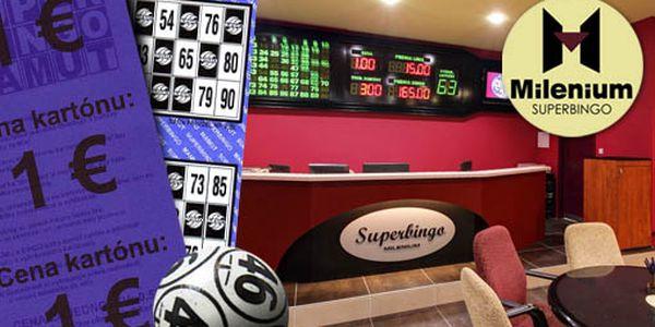 6 ks tiketov na hru BINGO + nápoj podľa výberu do 3€....to všetko len za 3€. Výborná hra s minimálnym vkladom so zľavou 67% a možnosťou vysokého zisku!!!