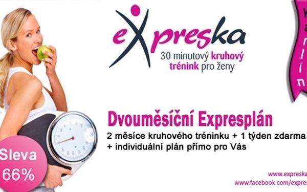 Hubněte o prázdninách expres v Expresce Karlín a to expres!