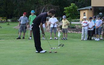 Chcete se naučit golf a získat osvědčení pro hru? Je tu 5denní kurz golfu včetně závěrečné zkoušky v Golf Resortu Barbora pod vedením profesionálního trenéra Martina Kovaříka, jen za 3990 Kč. Vyberte si termín, který Vám nejvíce vyhovuje a staňte se golfistou!