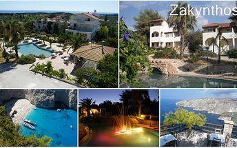 14 denní zájezd autobusem na řecký ostrov Zakynthos s návštěvou Benátek, Delf, Olympie, Dolomit a 2 celodenní výlety po ostrově Zakynthos v termínu 11.9. - 25.9.2011 s ubytováním v 3 hvězdičkovém FKK hotelu Panorama za úžasnou cenu 14.392 Kč!