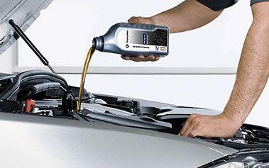 Udržujte své auto za tu nejnižší cenu! Zakupte voucher za pouhých 39 Kč a získejte tak slevu v hodnotě 500 Kč na výměnu motorového oleje a filtru Vašeho autíčka! Navíc zdarma získáte doplnění ostřikovačů, kompletní kontrolu brzd a vůni do interiéru!