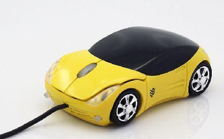 Usb myš jako autičko - superdárek pro každého kluka