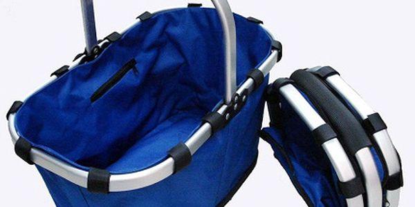 139 Kč za moderní skládací nákupní košík! Praktický pomocník pro každou příležitost nejen na nákupy, piknik, chatu a chalupu se slevou 54%!