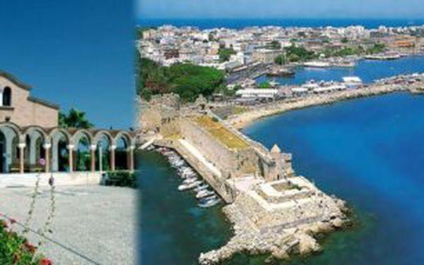 11990 Kč za 11denní dovolenou na ostrově Kos v hodnotě 14490 Kč, termín 11.7.-21.7.2011
