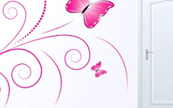 30,-Kč za dekorativní nálepky na zeď, zrcadlo, či notebook! Výběr z více jak 70 motivů. Sleva 57%!!!