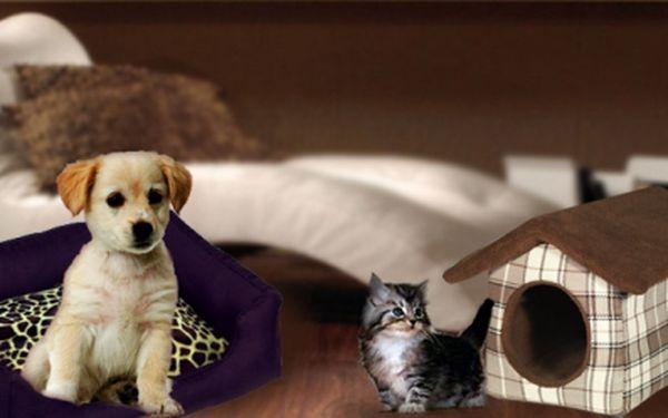 Jediná akce svého druhu v ČR! Voucher na nákup pelíšku pro Vašeho pejska či kočku v hodnotě 300 Kč za 149 Kč! Originální zboží ze zahraničí, skvělý design a kvalita.