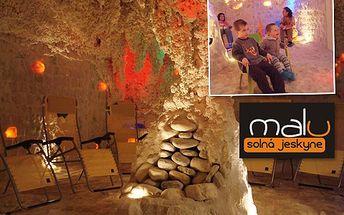 Pořiďte si permanentku do solné jeskyně, jejíž návštěva napomůže ke zlepšení vašeho zdravotního stavu! Jen za 149 korun si můžete užít pět seancí a vdechovat léčivý prosolený vzduch.