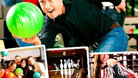 Sražte je všechny a zapijte vítězství míchanými koktejly! Zveme Vás i vaše přátele na bowling! Zahrajte si hodinu bowling a osvěžte se dvěma míchanými nápoji se slevou 52%.