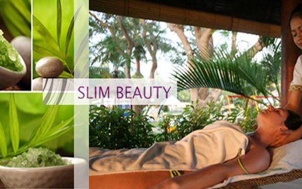 Horká novinka světových SPA center! Indonéská Bali masáž celého těla s vůni exotiky. Dobijte ztracenou energii pod rukama zkušených masérů ve studiu Slim Beauty se slevou 55%.