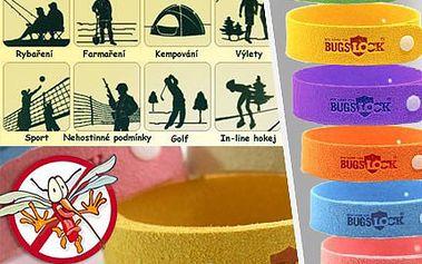 Záchrana před komáry! Kupte si jedinečné repelentní náramky a hmyz si vás ani nevšimne. Už žádné bolavé štípance! 5 ks barevných náramků i s poštovným se slevou 75%.
