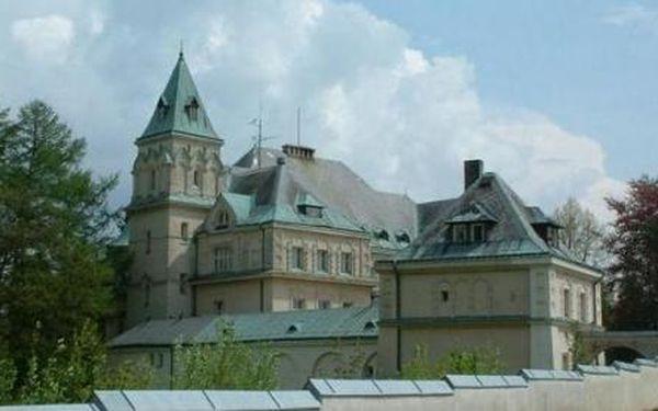 Léto na zámku … dovolená v srdci Jizerských hor, na zámku Větrov jen za 290Kč za osobu na den s polopenzí … to je přímo královská nabídka :)
