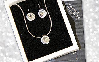 Zkrášlete se sadou luxusních šperků s originálními kameny Swarovski! Dnes jen za skvělých 349 Kč! Budete se krásně třpytit a navíc ušetříte 401 korun! Limitovaná edice!