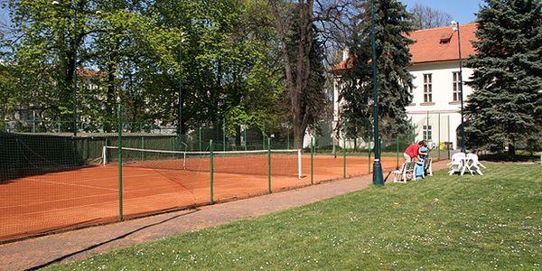 Víkendová permanentka na 5 hodin tenisu v centru Prahy na Střeleckém ostrově