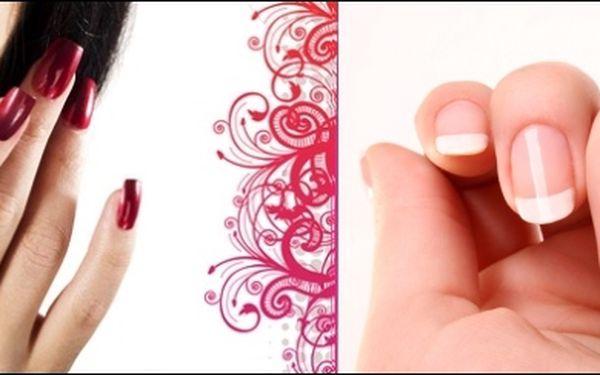 159,- Kč za krásné upravené nehty pomocí převratné novinky v oblasti péčeo nehty GEL - LAK s 61% slevou.