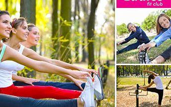 Fitness novinka funkčního tréninku – TRX TRAINING OUTDOOR se slevou 50% Posilněte každý sval v těle s LADIES FIT CLUBEM!
