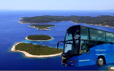 Obousměrná autobusová jízdenka do Chorvatska a zpět! Odjezd 22. 7, návrat 31. 7. 2011!
