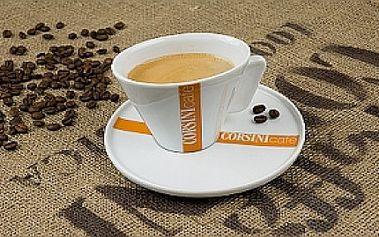 LAHODNÁ KÁVA A ZÁKUSEK ! Přijďte si pochutnat na výborné kávě Caffé Corsini a zákusku se slevou 65% v útulné kavárničce v centru Prahy!