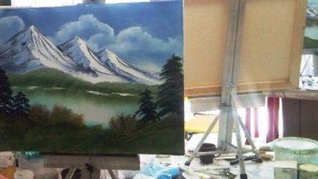 Jen 1499 Kč za 1denní kurz olejomalby pro všechny! Namalujte si svůj obraz a staňte se malířem s 53% primaslevou!